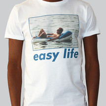 tee-shirt easy life by c.e.r.f