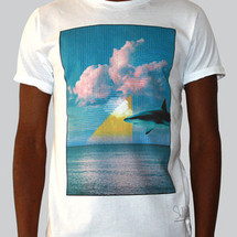 tee-shirt shark by c.e.r.f