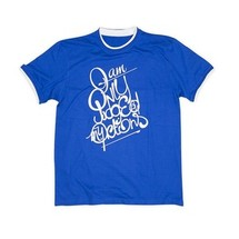 tee-shirt only judged bleu by gazmasta