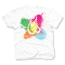 tee-shirt rainbrowd by gazmasta
