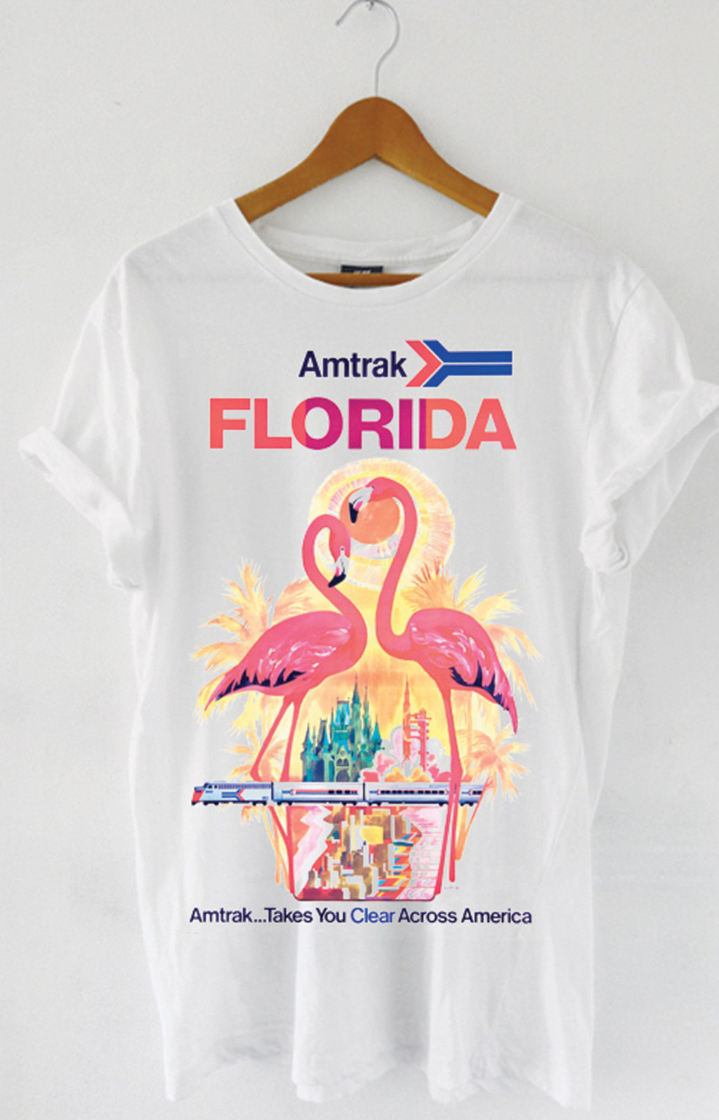 T-shirt Amtrak Florida