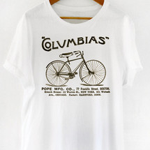 tee-shirt columbias boston cycle by mathrow