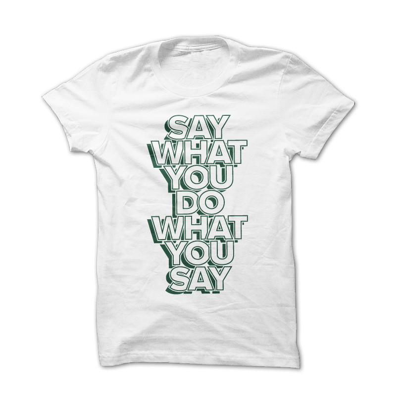 T-shirt Speech