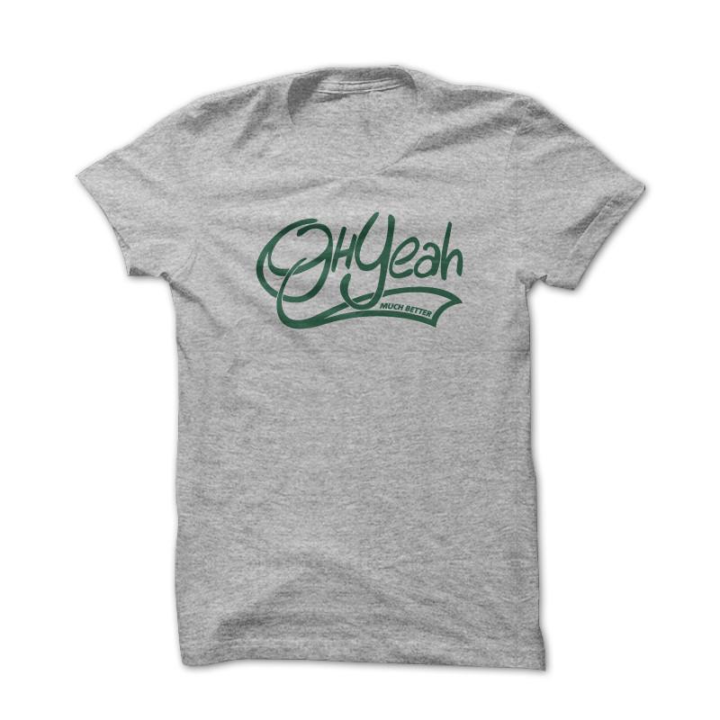 T-shirt Better Gris