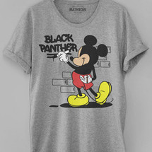 tee-shirt mickey graffiti by mathrow