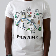 tee-shirt paname by c.e.r.f