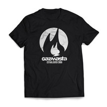 tee-shirt fall black - gazmasta
