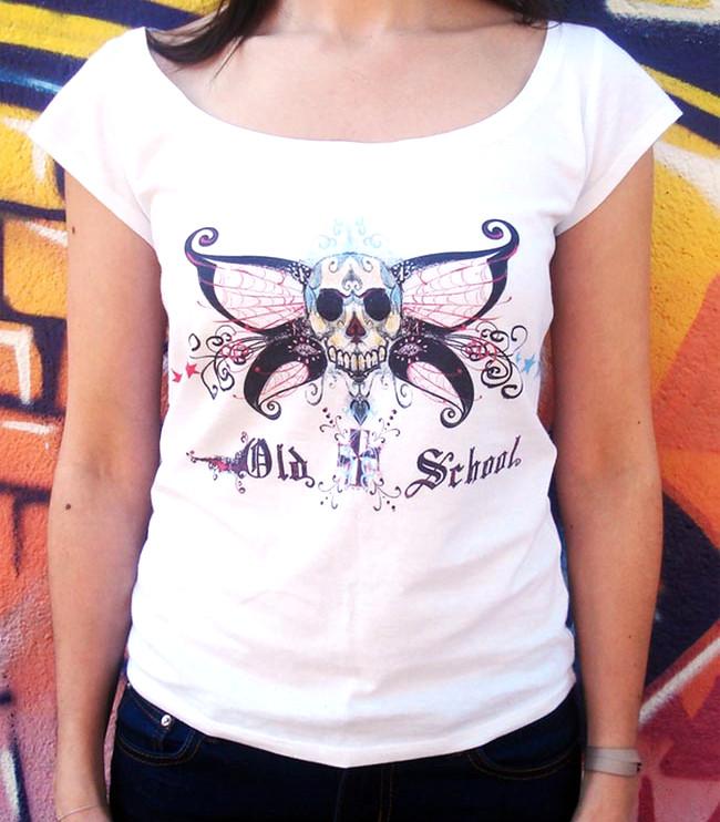 T-shirt DEATH BUTTERFLY