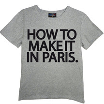 tee-shirt how to make it in paris. - frenchcool
