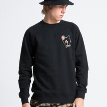 sweat-shirt black-bambi - mathrow