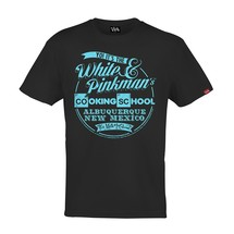 tee-shirt pinkman's cooking school - funkrush
