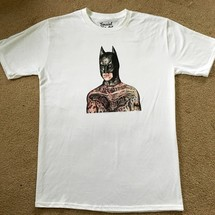 tee-shirt tattooed batman tee - social misfit clothing