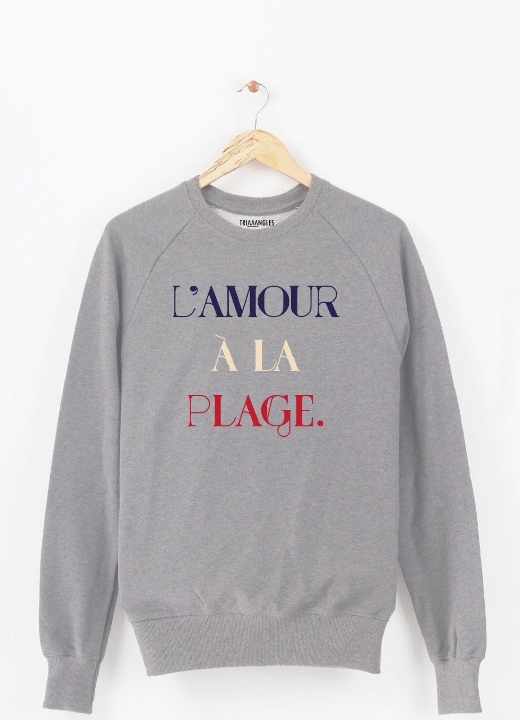 Sweat-Shirt L'AMOUR A LA PLAGE