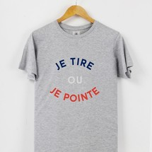 tee-shirt je tire ou je pointe by triaaangles