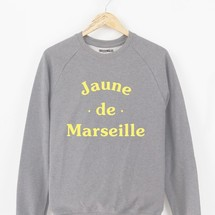 sweat-shirt jaune de marseille by triaaangles