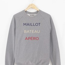 sweat-shirt maillot bateau apero by triaaangles