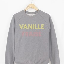 sweat-shirt vanille fraise by triaaangles