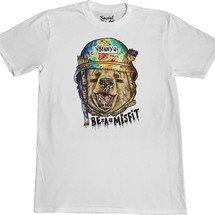 tee-shirt benny the bear - social misfit clothing