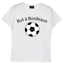 tee-shirt but à bordeaux - frenchcool