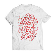 tee-shirt myday white - gazmasta
