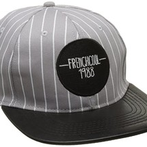 casquette snapback baseball visière en cuir by frenchcool