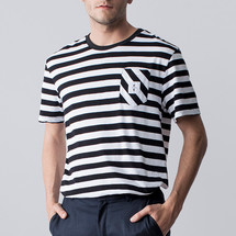 tee-shirt striped love male - costalamel