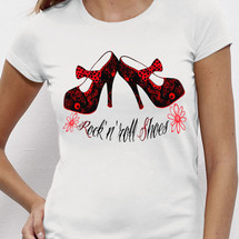 tee-shirt rock shoes - joelalexandre