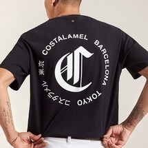 tee-shirt costalamel コスタラメル - costalamel