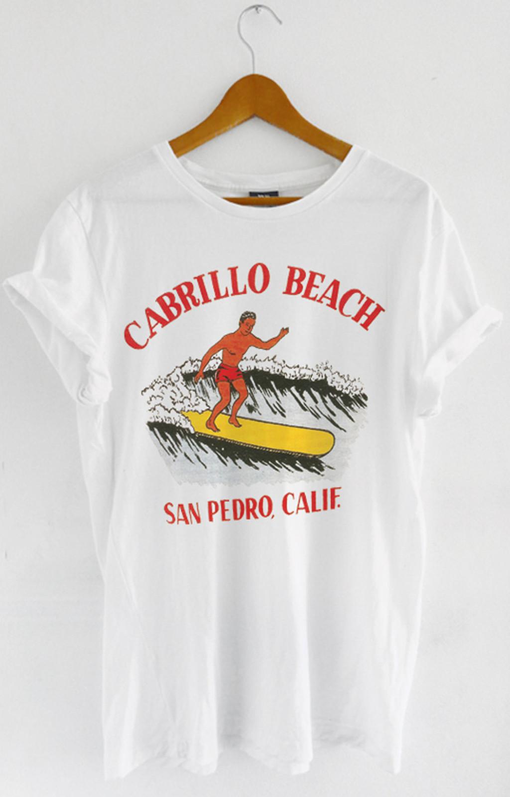 T-shirt Cabrillo Beach