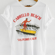 tee-shirt cabrillo beach by mathrow