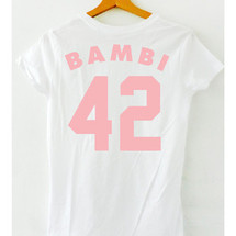 tee-shirt bambi 42 - mathrow