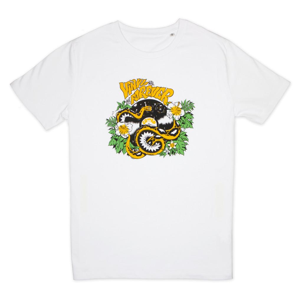 T-shirt Vinyl will never die