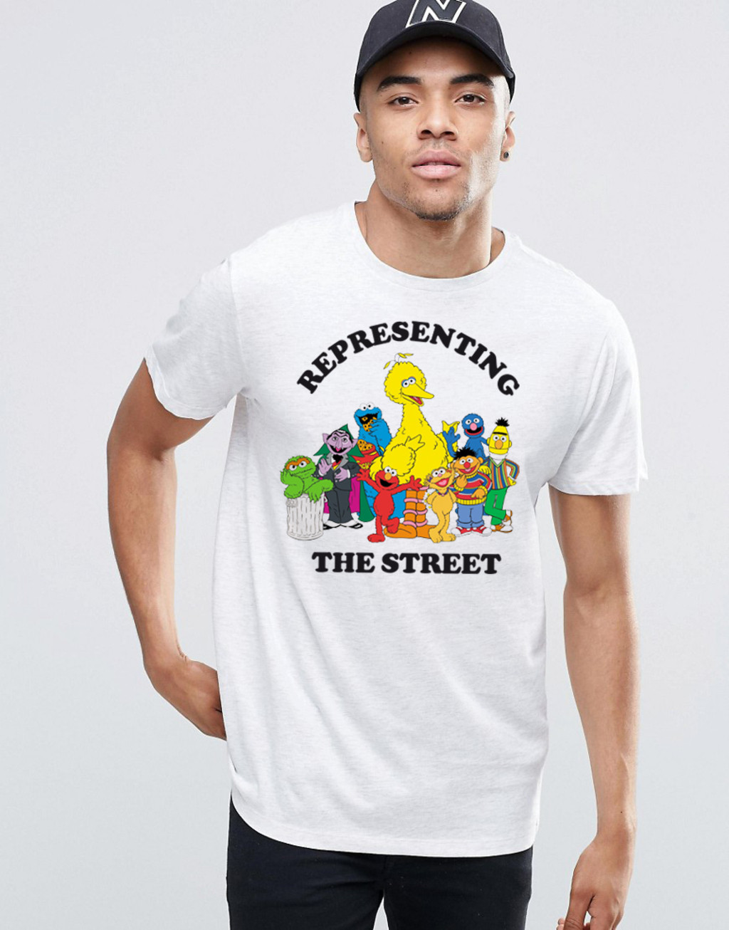 T-shirt REPRESENTING THE STREET